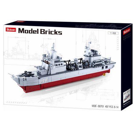 Sluban Model Bricks - ellátóhajó építőjáték készlet