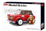Sluban Model Bricks - Mini Cooper autó építőjáték készlet