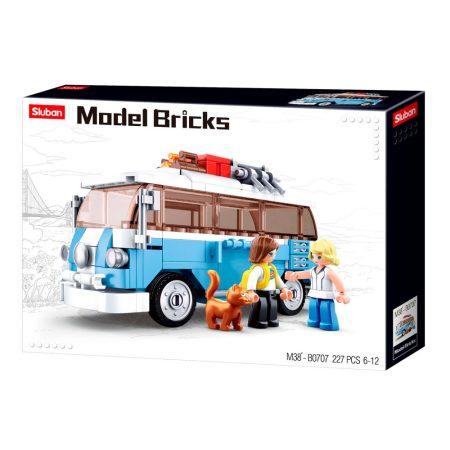 Sluban Model Bricks - hippi busz építőjáték készlet