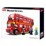 Sluban Model Bricks - Londoni emeletes busz építőjáték készlet