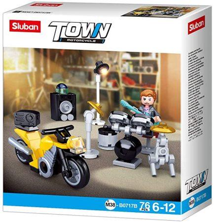 Sluban Town - Motoros rocker építőjáték készet