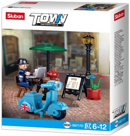 Sluban Town - Robogó építőjáték készlet
