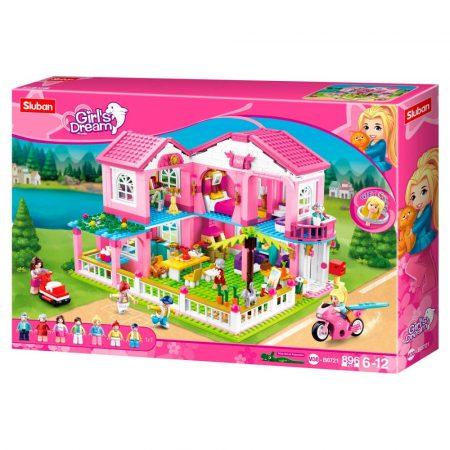 Sluban Girl's Dream - Nagy játékház építőjáték készlet