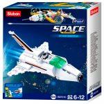 Sluban Space - 8 into 1 kis űrhajó építőjáték készlet
