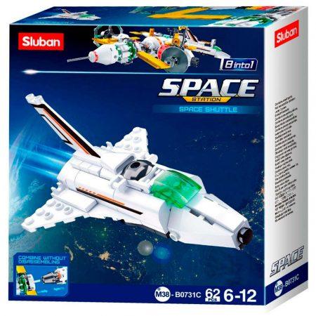 Sluban Space - Kis űrhajó építőjáték készlet