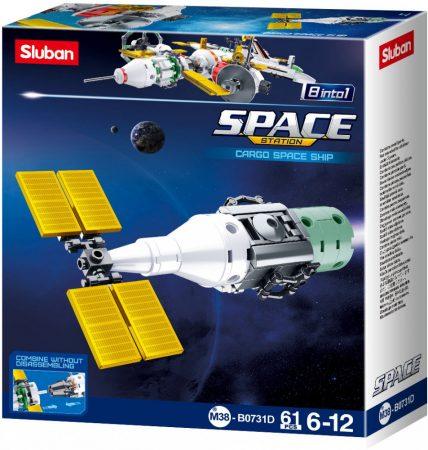 Sluban Space - 8 into 1 műhold építőjáték készlet