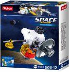 Sluban Space - 8 into 1 űrszonda építőjáték készlet
