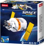 Sluban Space - 8 into 1 csillagászati műhold építőjáték készlet