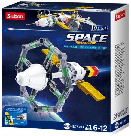 Sluban Space - 8 into 1 Nautilus-X űrkutatási jármű építőjáték készlet