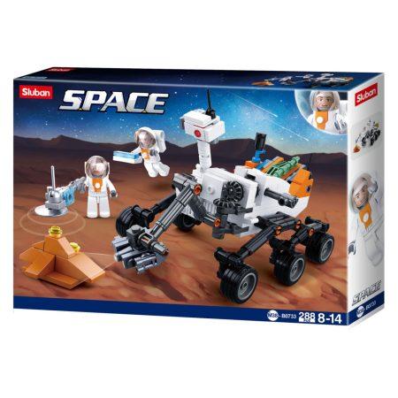 Sluban Space - Felderítő bolygójáró építőjáték készlet