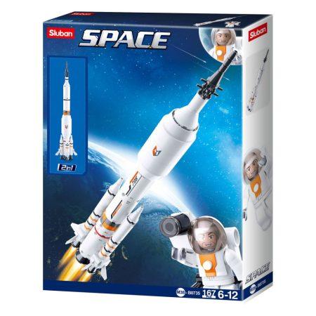 Sluban Space - Űrrakéta 2 az 1-ben építőjáték készlet