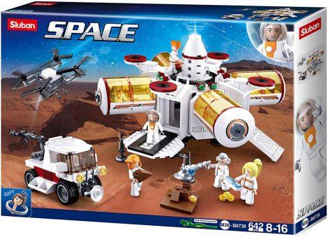 Sluban Space - Űrkutató állomás építőjáték készlet