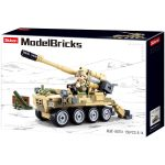 Sluban Model Bricks - Army 8x8 önjáró löveg