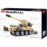 Sluban Model Bricks - Army 8x8 önjáró löveg