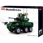 Sluban Model Bricks - Army 6x6 IFV építőjáték készlet