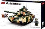 Sluban Model Bricks - Army T90-es orosz tank építőjáték készlet