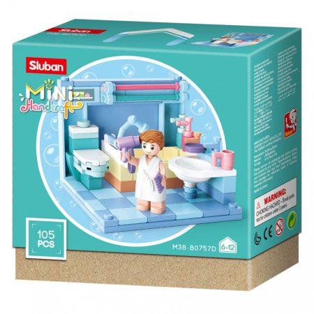 Sluban Mini Handkraft - Fürdő építőjáték készlet