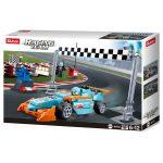 Sluban Racing Team – Kis körverseny építőjáték készlet