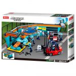 Sluban Racing Team – Boxutca építőjáték készlet