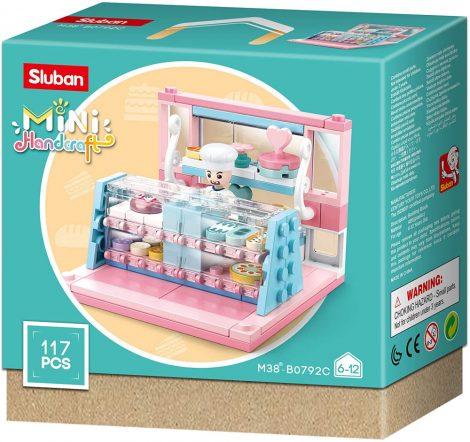 Sluban Mini Handcraft - Cukrászda építőjáték készlet