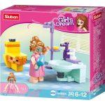 Sluban Girl's Dream - Fürdőszoba építőjáték készlet