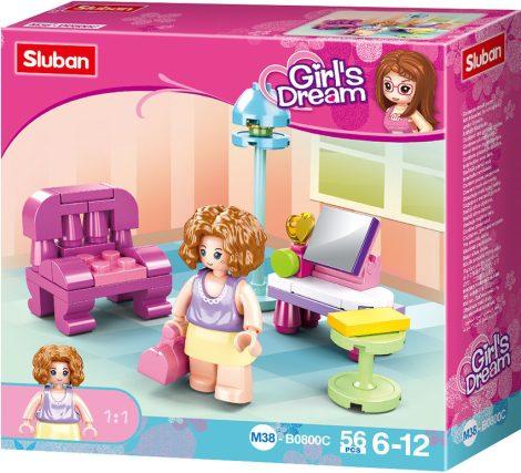 Sluban Girl's Dream - Nappali építőjáték készlet