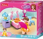 Sluban Girl's Dream - Hálószoba építőjáték készlet