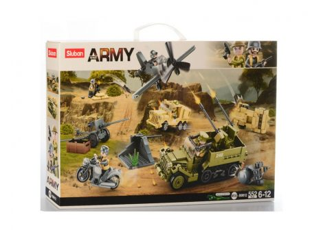 Sluban Army - A csata építőjáték készlet