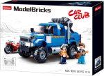 Sluban Model Bricks - Nagy kék pick-up építőjáték készlet