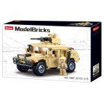 Sluban Model Bricks - Army Hummer H1 terepjáró építőjáték készlet