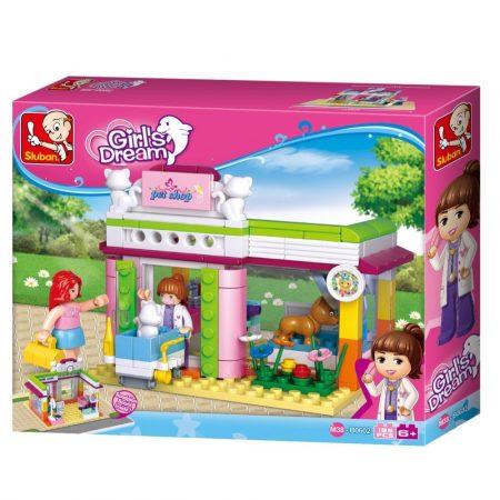 Sluban Girl's Dream -Kisállatkórház építőjáték készlet