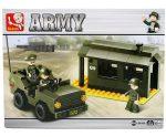 Sluban Army - Katonai őrhely építőjáték készlet