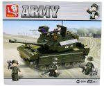 Sluban Army – Combat tank építőjáték készlet figurákkal