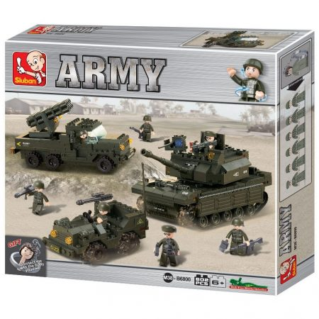 Sluban Army - Szárazföldi egység építőjáték készlet