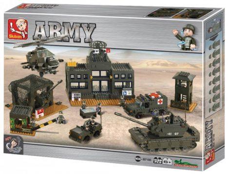 Sluban Army - Főhadiszállás építőjáték készlet